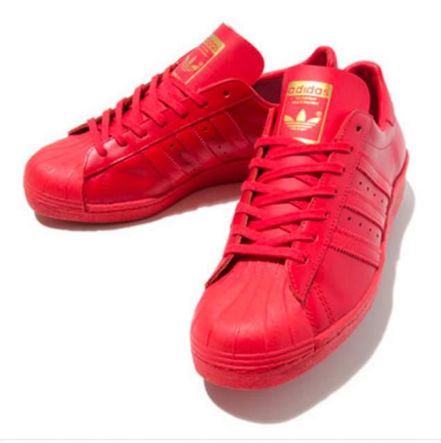 scarpe superstar adidas. nike superstar rosse
